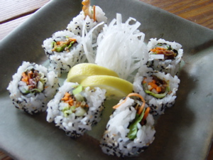 Online Sushi Class – Inside Out Rolls