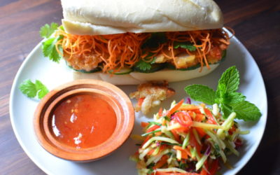 Fragrant Fish Cake Bahn Mi